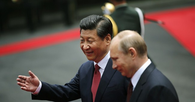 China gives Putin a diplomatic boost