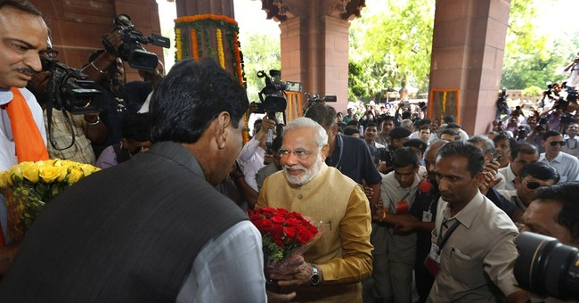Modi to be sworn in as India's leader on Monday