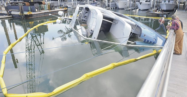 85-foot yacht sinks at launching in Washington