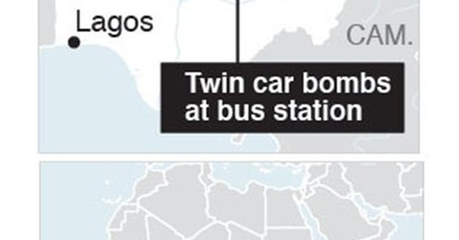 Major attacks by Islamic extremists in Nigeria