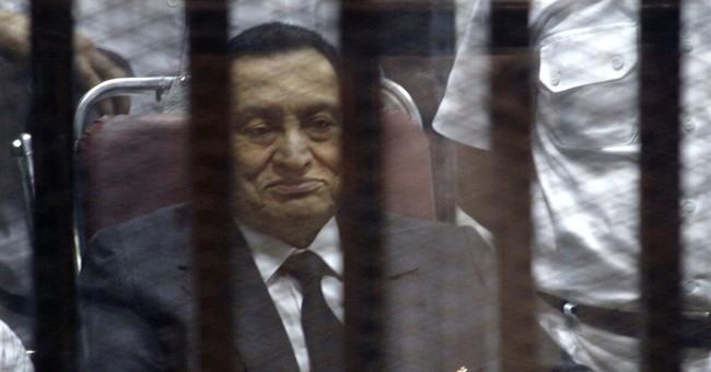 Egypt's Mubarak convicted of graft, gets 3 years