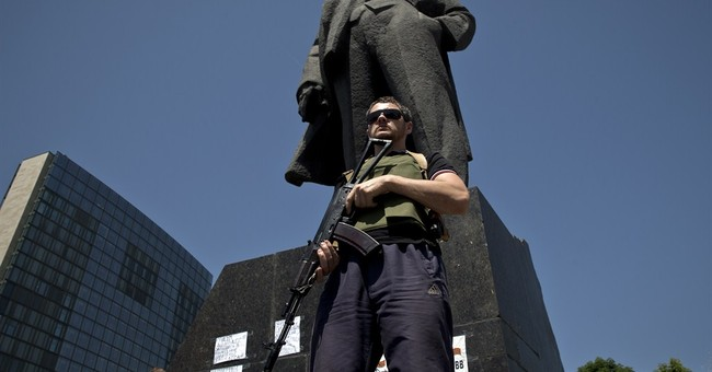 In Ukraine, chaos meets self-declared independence