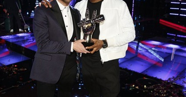 Usher nabs first 'Voice' victory with Josh Kaufman