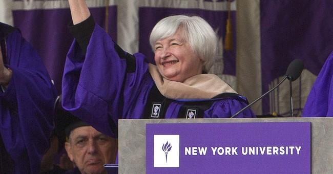 Yellen, at NYU, hails Bernanke's courage in crisis