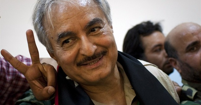 Rogue Libyan general welcomes protesters' backing