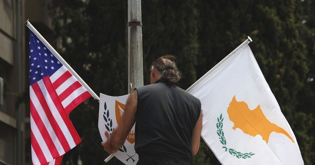 Gas, Ukraine top US vice president's Cyprus trip