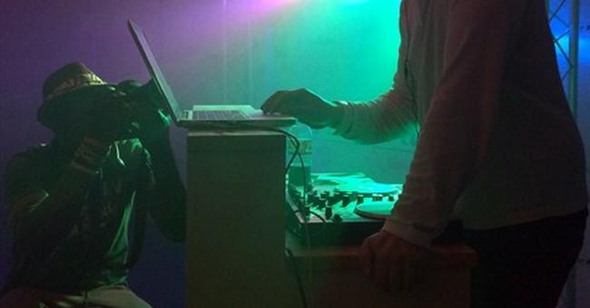 CANNES WATCH: Headphones power 'silent disco'