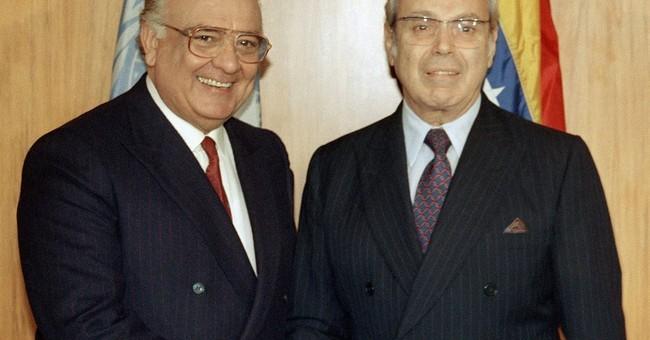 Ex-Venezuela President Lusinchi dies at 89