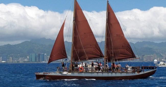 Legendary Hawaii canoe embarks on global odyssey