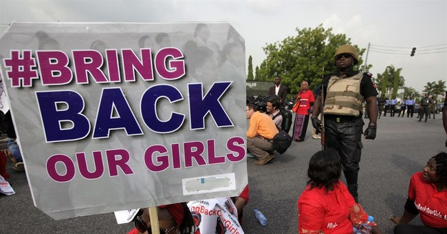 Nigerians protest government failure to free girls