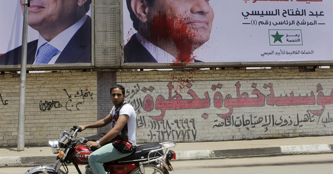 Clashes at Egypt rallies kill 2 ahead of election