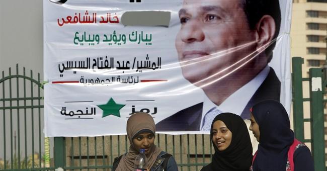 Poll: Only slight majority in Egypt backs el-Sissi