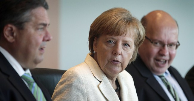 German business confidence slips back