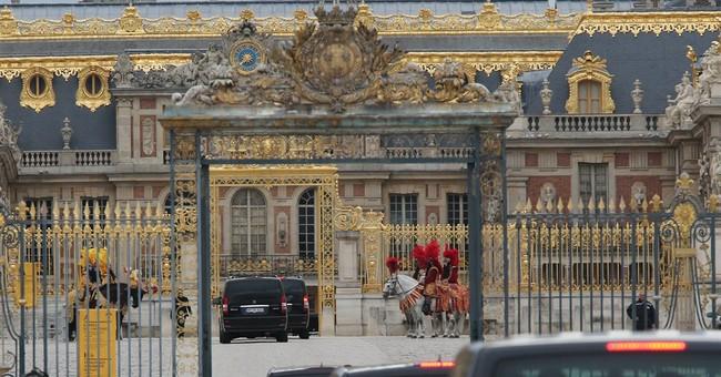 Versailles, Valentino: Big day for Kim and Kanye