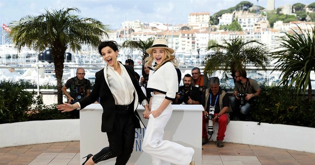 Fiction, reality mingle for Stewart in Cannes