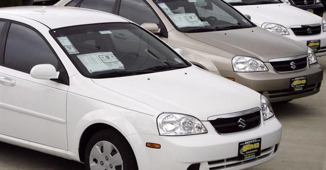 Suzuki recalls GM-made small cars for fire problem