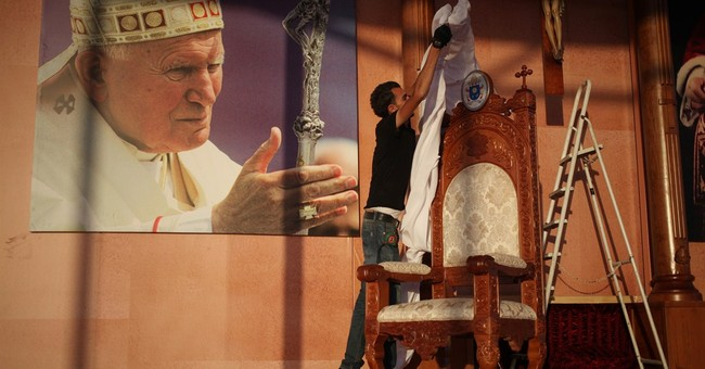 Pope's schedule for his first visit to Holy Land