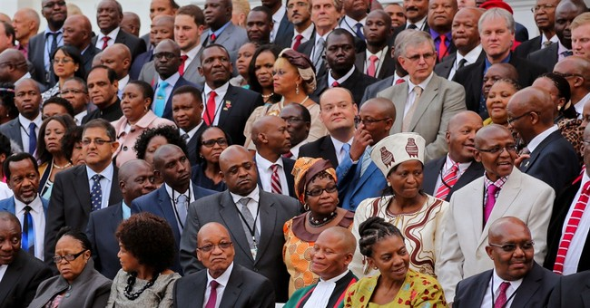 South Africa inaugurates president for 2nd term
