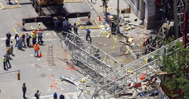 Wrongful death trial opens in NYC crane collapse