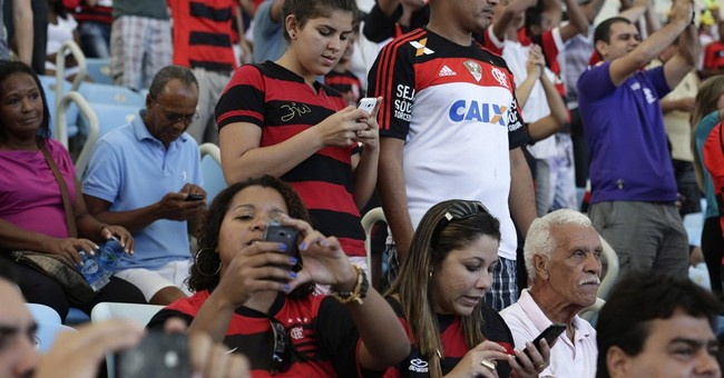 Brazil's weak service makes WCup Tweets unlikely
