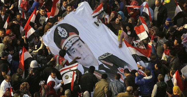 Egypt's interim president urges Egyptians to vote