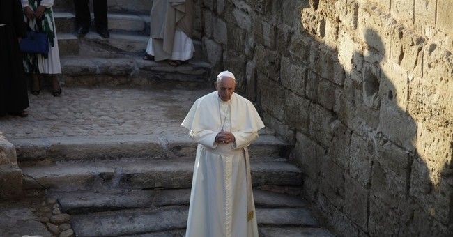 Pope's schedule for final day of Holy Land visit