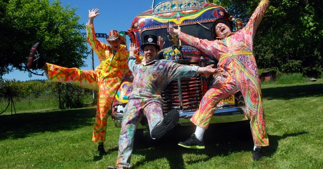 Psychedelic bus gears up for 50th anniversary