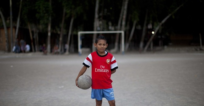 Soccer helps some young Hondurans escape the gangs