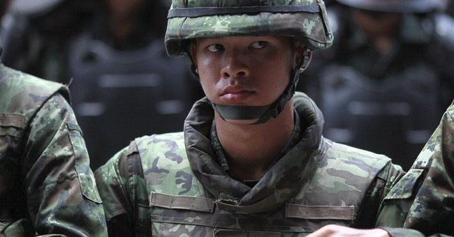 Thai coup leader warns against protests