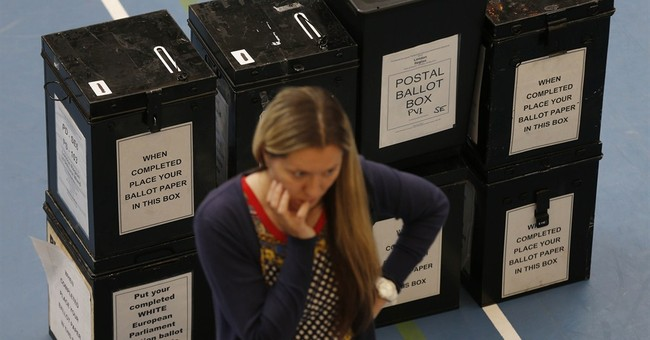 Britain's UKIP party surges in Euro election