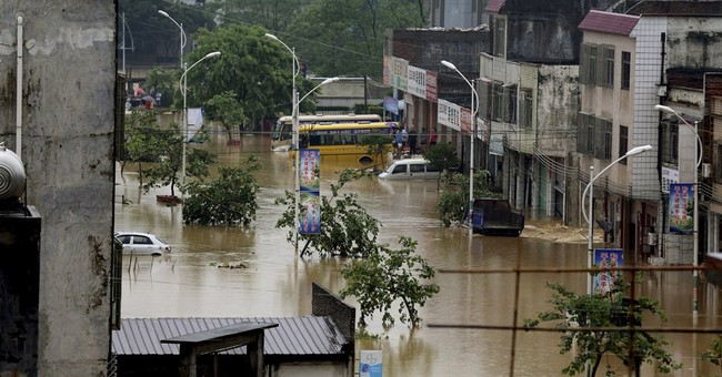 Flooding in south China kills 19, destroys homes