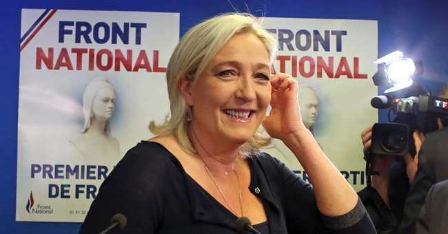 Polls: French far right leads in Europe vote