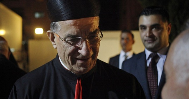 Lebanese cardinal makes rare Jerusalem visit