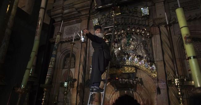 Pope, patriarch pray in Holy Sepulcher church