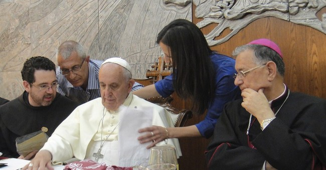 Palestinians raise threat to land with Pope
