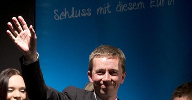 German anti-euro party set to enter EU parliament