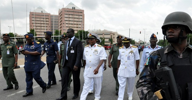 Nigerian defense chief says abducted girls located