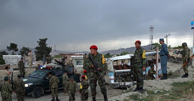 Officials: Kabul bombing kills 2 wounds 9