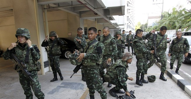 Thai coup leader: Don't protest, it's no use