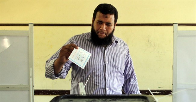 Pro-military fervor at polls as Egyptians vote