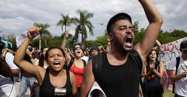 Brazil begins World Cup preparations amid protests