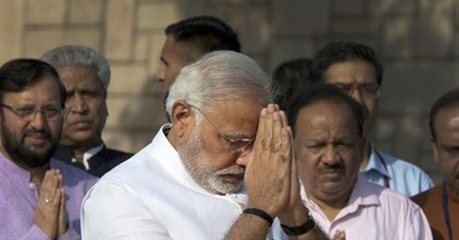 Modi to be sworn in as Indian prime minister