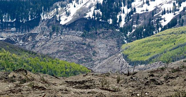 No sign of 3 men missing in Colorado slide