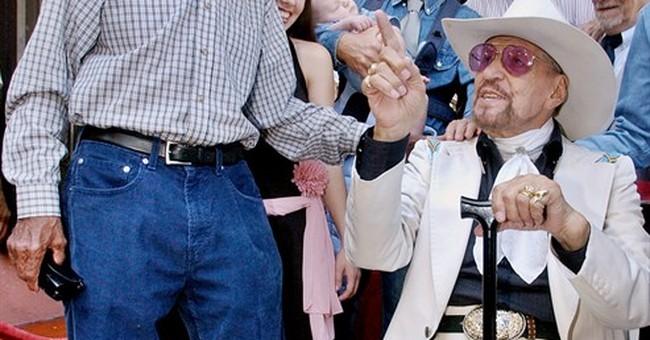African-American cowboy crooner Herb Jeffries dies