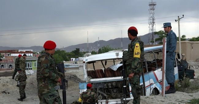 Officials: Kabul bombing kills 2 wounds 9