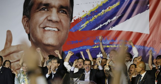Colombia's president heads to runoff in 2nd place