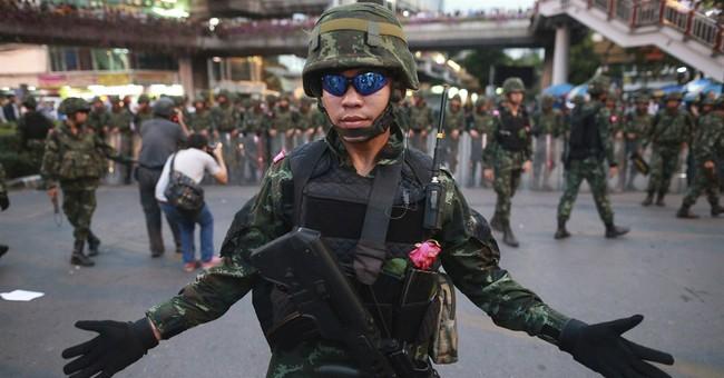 Thai junta airs propaganda to show detainees OK
