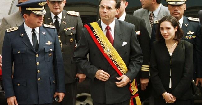 Arrest warrant issued for former Ecuador president