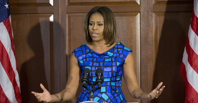 First lady responds to school meal critics