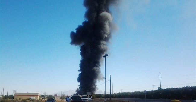 New Mexico biofuel plant catches fire